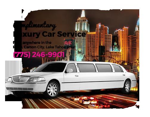 Complimentary Luxury Car Service